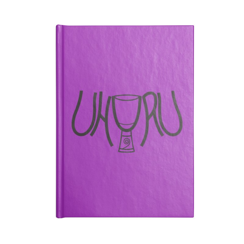 Uhuru Accessories Blank Journal Notebook by DJEMBEFOLEY Shop