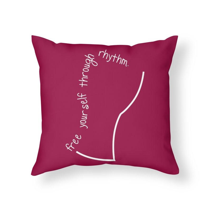 Freedom Home Throw Pillow by DJEMBEFOLEY Shop