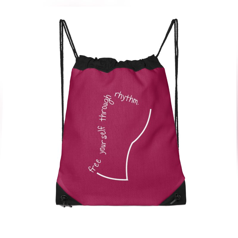 Freedom Accessories Drawstring Bag Bag by DJEMBEFOLEY Shop
