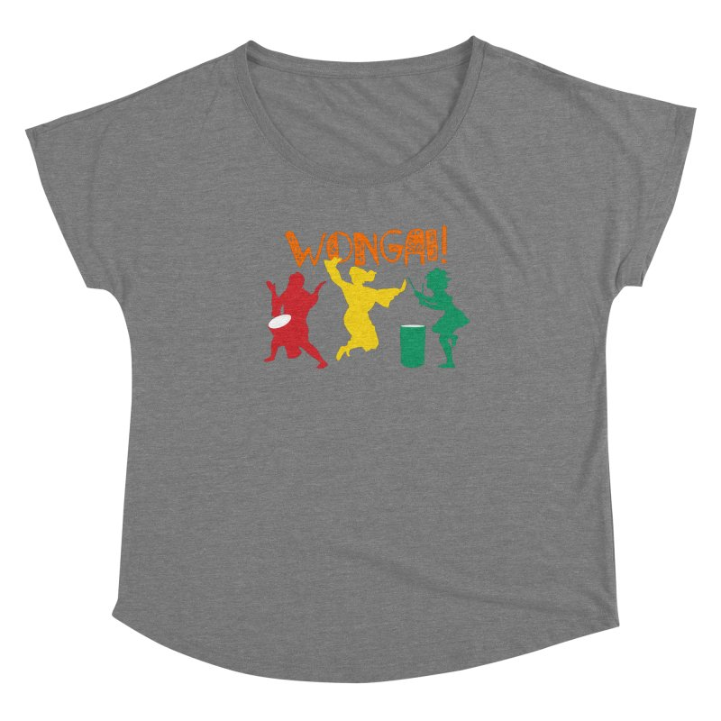 LIMITED EDITION!  Wongai! Women's Scoop Neck by DJEMBEFOLEY Shop