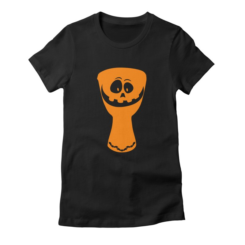 "LIMITED EDITION!  ""DJEMB-O-LANTERN"" Women's Fitted T-Shirt by DJEMBEFOLEY Shop"