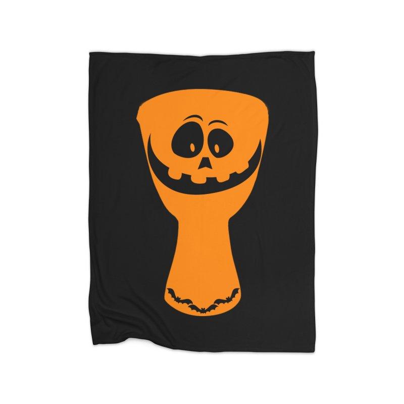 """LIMITED EDITION!  """"DJEMB-O-LANTERN"""" Home Fleece Blanket Blanket by DJEMBEFOLEY Shop"""