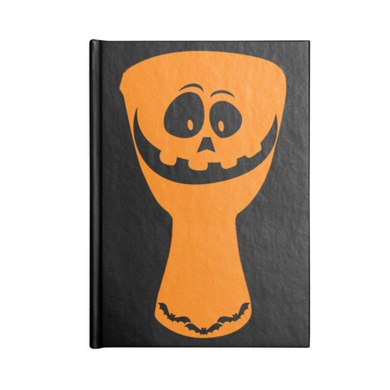 "LIMITED EDITION!  ""DJEMB-O-LANTERN"" Accessories Lined Journal Notebook by DJEMBEFOLEY Shop"