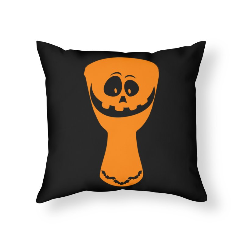 "LIMITED EDITION!  ""DJEMB-O-LANTERN"" Home Throw Pillow by DJEMBEFOLEY Shop"