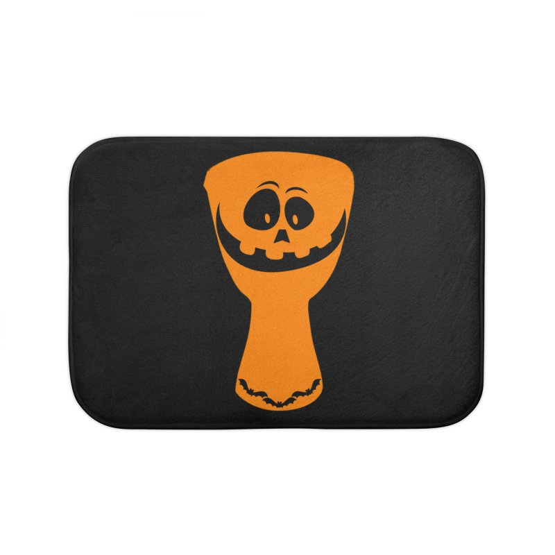 "LIMITED EDITION!  ""DJEMB-O-LANTERN"" Home Bath Mat by DJEMBEFOLEY Shop"