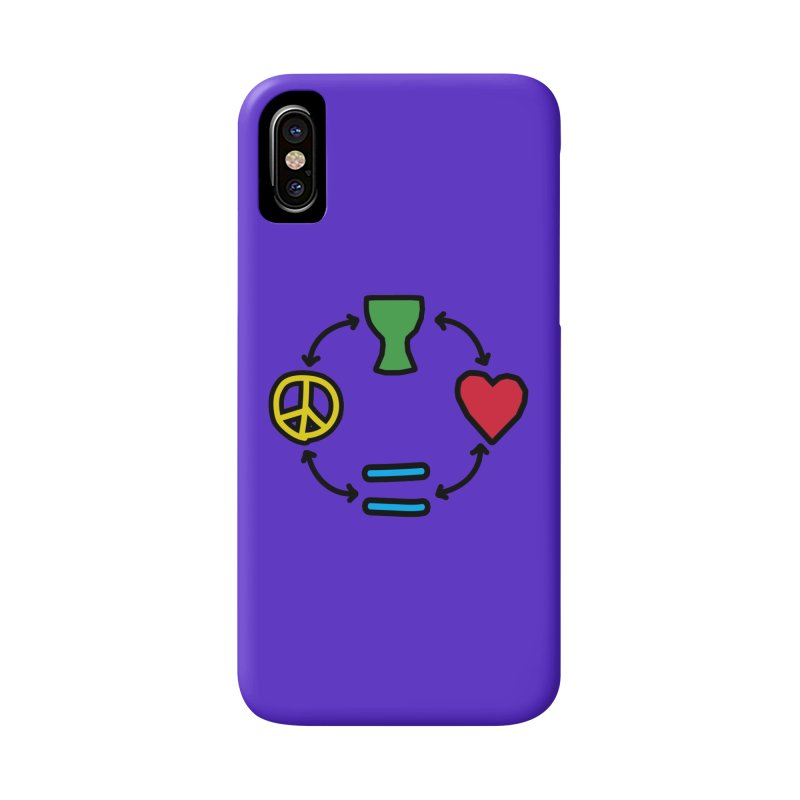 Djembe: Peace, Love, Equality Accessories Phone Case by DJEMBEFOLEY Shop