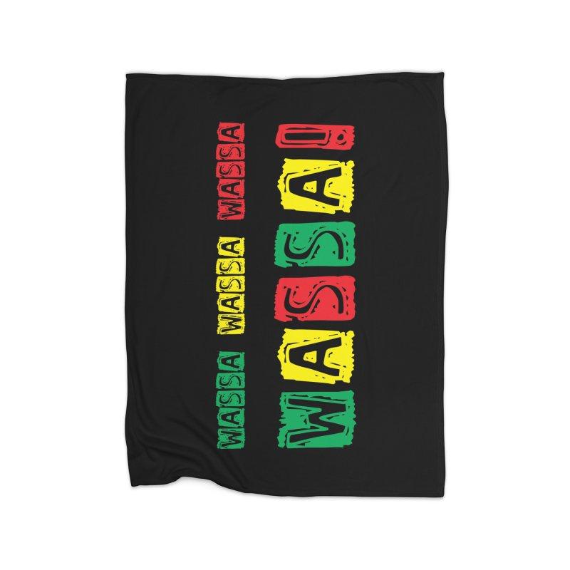 Wassa Wassa! Home Fleece Blanket Blanket by DJEMBEFOLEY Shop