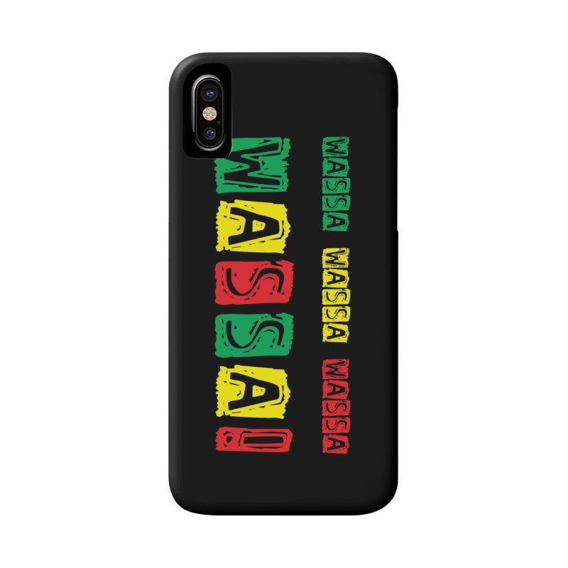 Wassa Wassa! Accessories Phone Case by DJEMBEFOLEY Shop