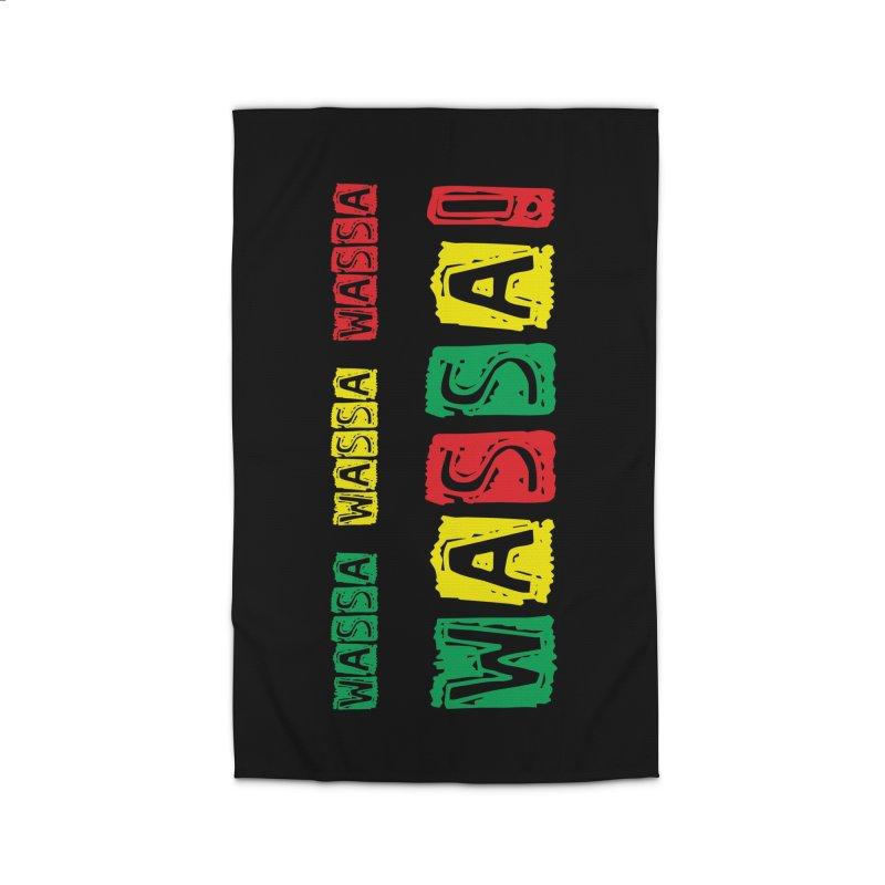 Wassa Wassa! Home Rug by DJEMBEFOLEY Shop