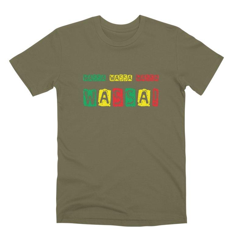 Wassa Wassa! Men's Premium T-Shirt by DJEMBEFOLEY Shop