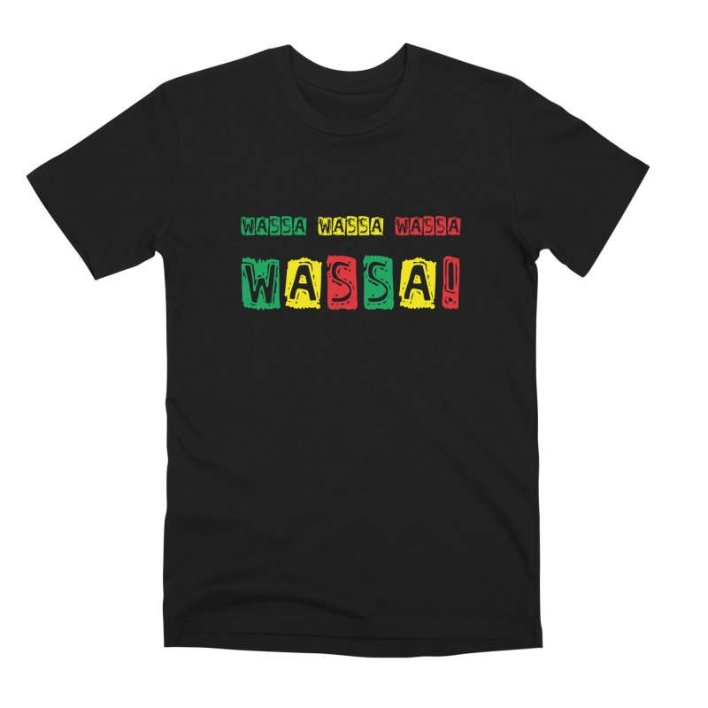 Wassa Wassa! Men's Premium T-Shirt by DJEMBEFOLEY Shop