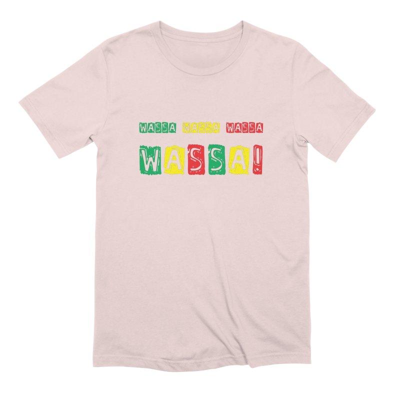 Wassa Wassa! Men's Extra Soft T-Shirt by DJEMBEFOLEY Shop