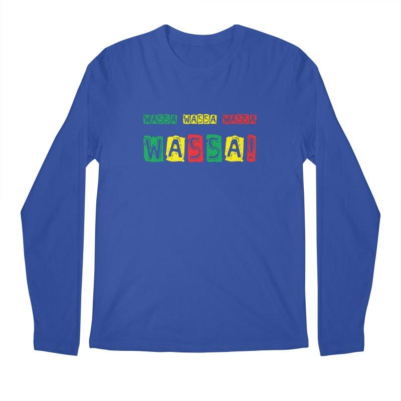 Wassa Wassa! Men's Regular Longsleeve T-Shirt by DJEMBEFOLEY Shop
