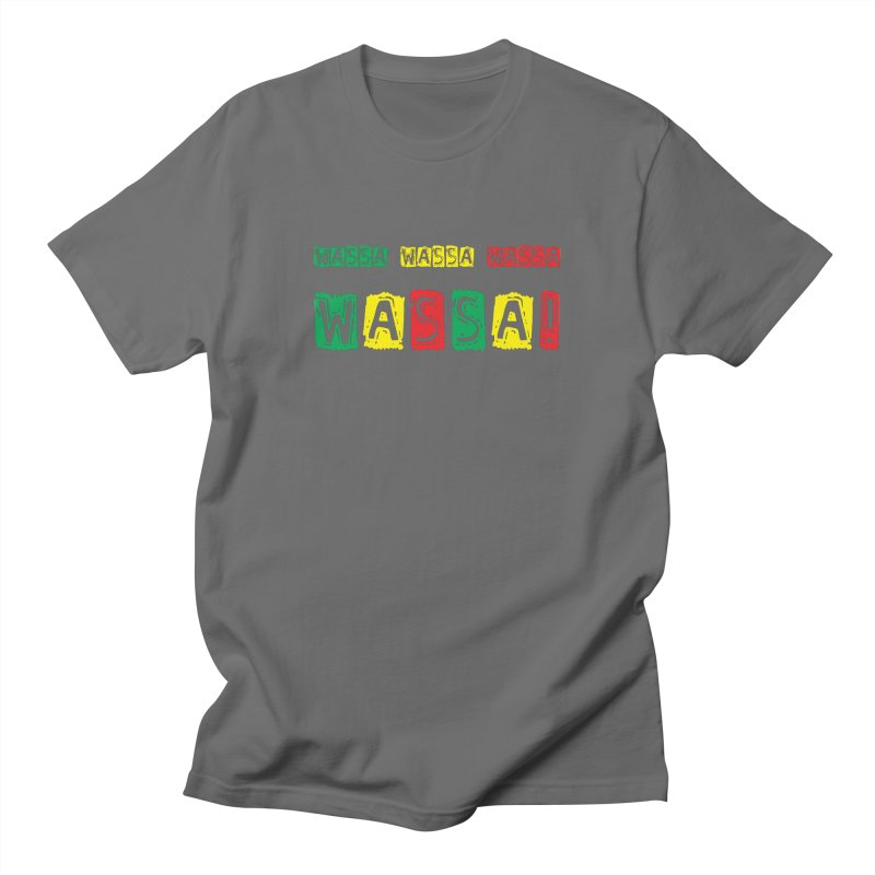 Wassa Wassa! Men's T-Shirt by DJEMBEFOLEY Shop