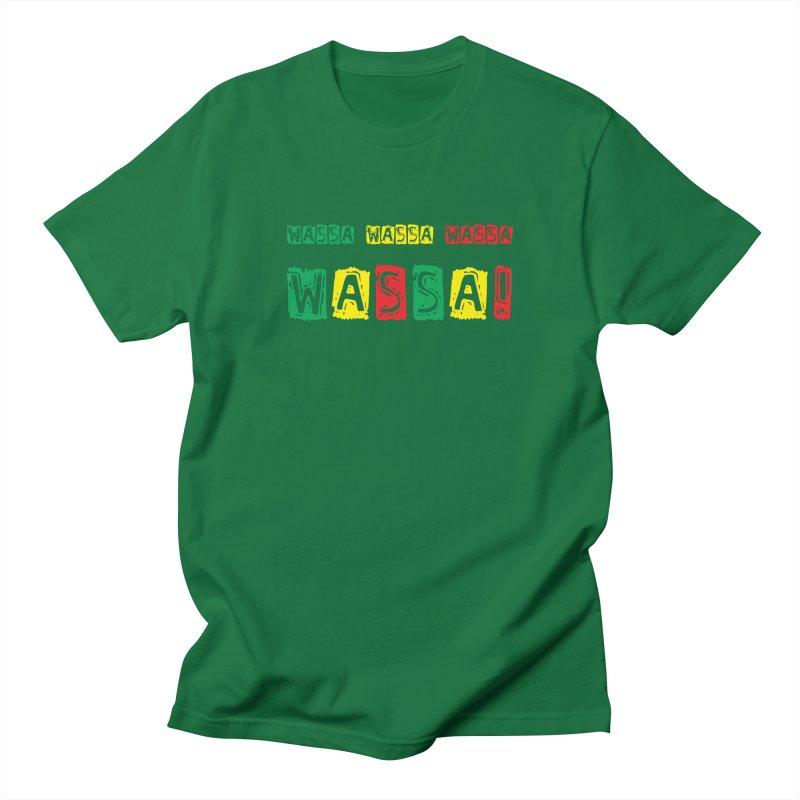 Wassa Wassa! Men's Regular T-Shirt by DJEMBEFOLEY Shop