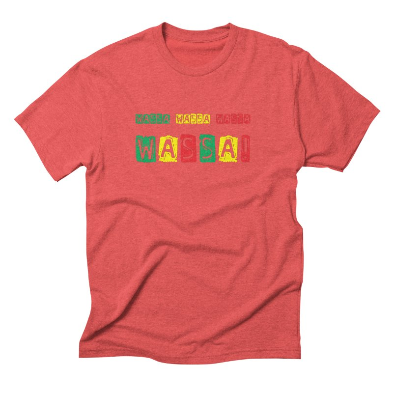 Wassa Wassa! Men's Triblend T-Shirt by DJEMBEFOLEY Shop