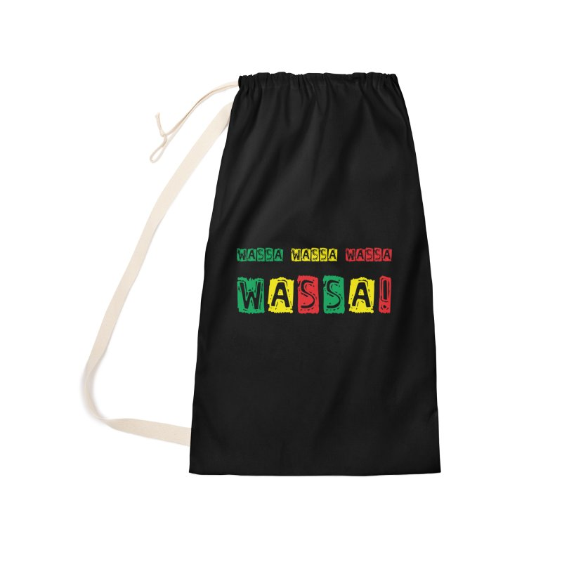 Wassa Wassa! Accessories Laundry Bag Bag by DJEMBEFOLEY Shop