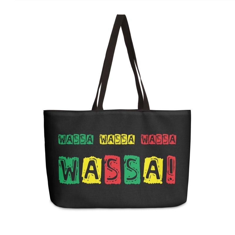 Wassa Wassa! Accessories Weekender Bag Bag by DJEMBEFOLEY Shop