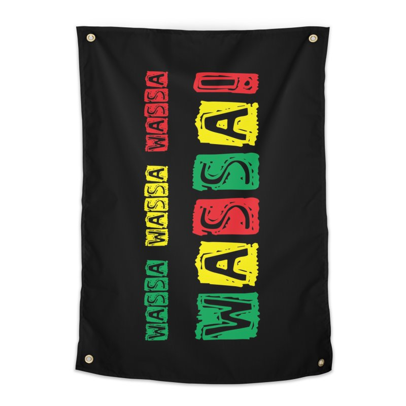 Wassa Wassa! Home Tapestry by DJEMBEFOLEY Shop