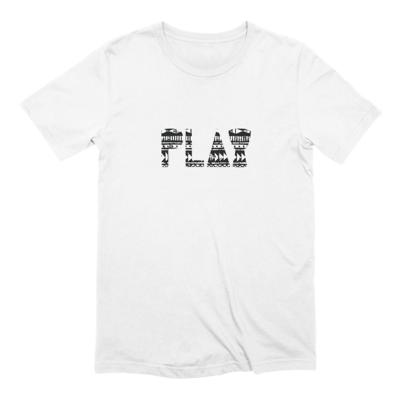 PLAY Men's Extra Soft T-Shirt by DJEMBEFOLEY Shop