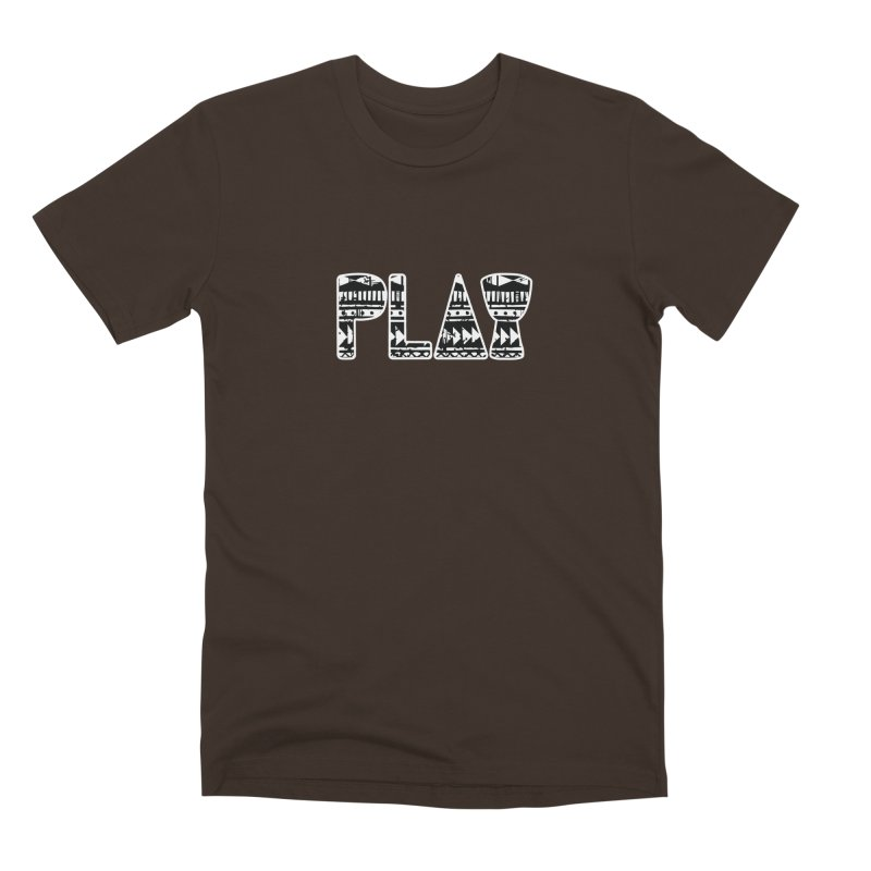 PLAY Men's Premium T-Shirt by DJEMBEFOLEY Shop