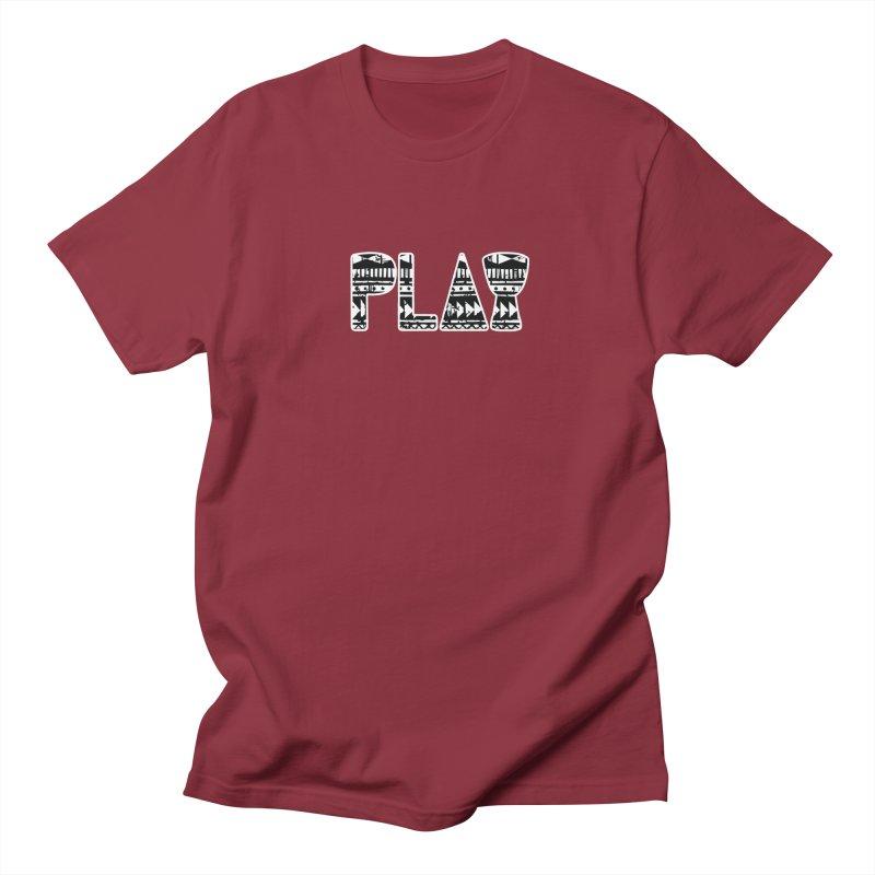 PLAY Women's Regular Unisex T-Shirt by DJEMBEFOLEY Shop