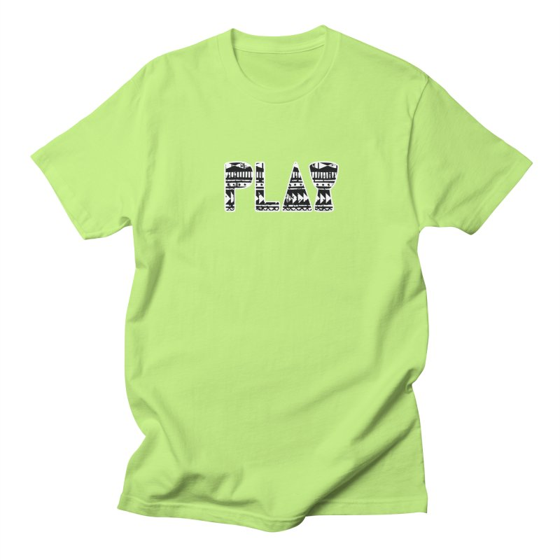 PLAY Women's Regular Unisex T-Shirt by DJEMBEFOLEY Shop