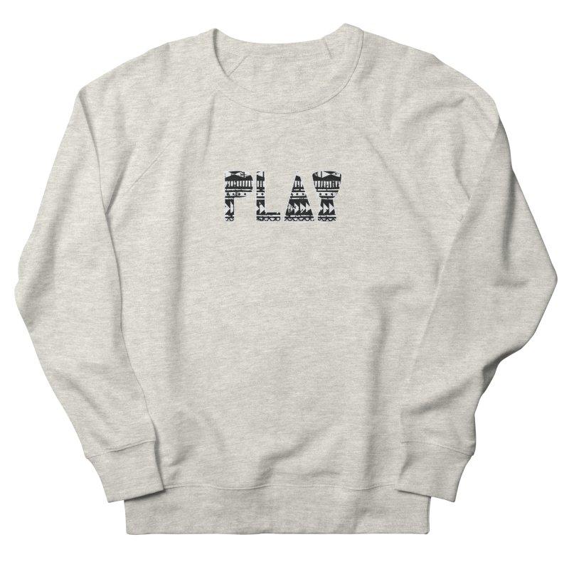 PLAY Women's French Terry Sweatshirt by DJEMBEFOLEY Shop