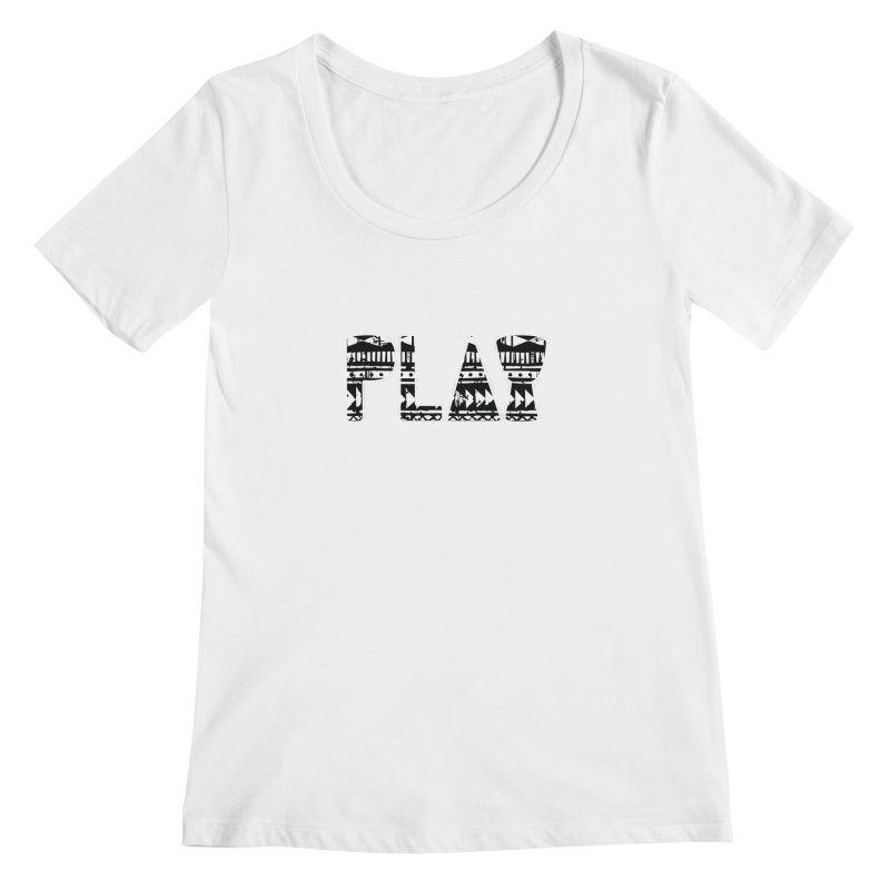 PLAY Women's Regular Scoop Neck by DJEMBEFOLEY Shop