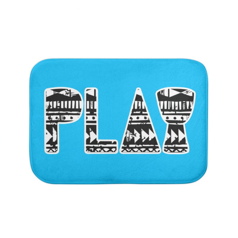PLAY Home Bath Mat by DJEMBEFOLEY Shop