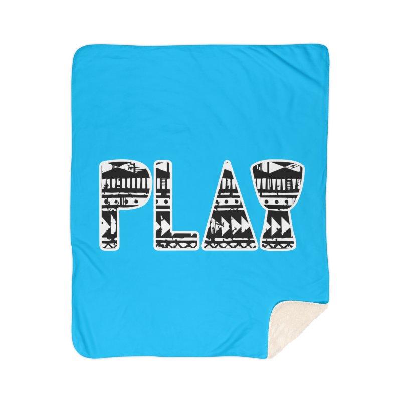 PLAY Home Sherpa Blanket Blanket by DJEMBEFOLEY Shop