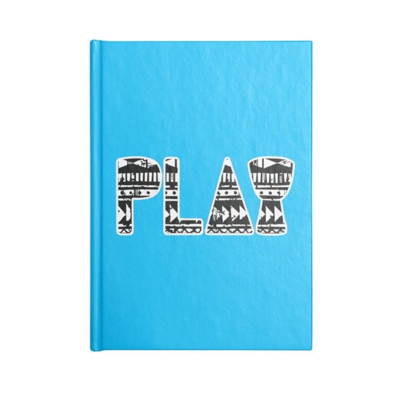 PLAY Accessories Blank Journal Notebook by DJEMBEFOLEY Shop