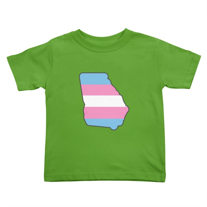 GA Trans Pride 2019 Kids Toddler T-Shirt by ATL Geek Merch Shop
