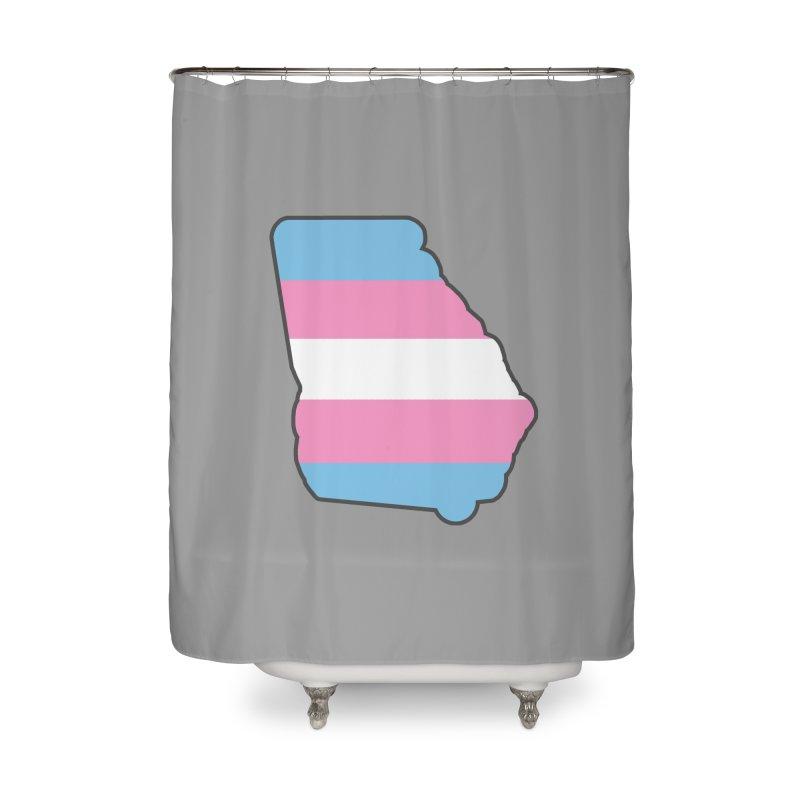 GA Trans Pride 2019 Home Shower Curtain by ATL Geek Merch Shop