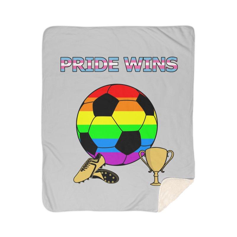 Win With Pride 2019 Home Sherpa Blanket Blanket by ATL Geek Merch Shop
