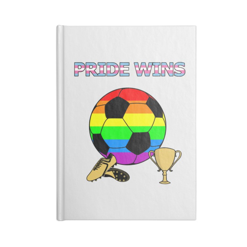 Win With Pride 2019 Accessories Blank Journal Notebook by ATL Geek Merch Shop