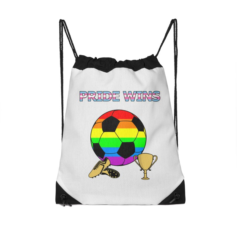 Win With Pride 2019 Accessories Drawstring Bag Bag by ATL Geek Merch Shop