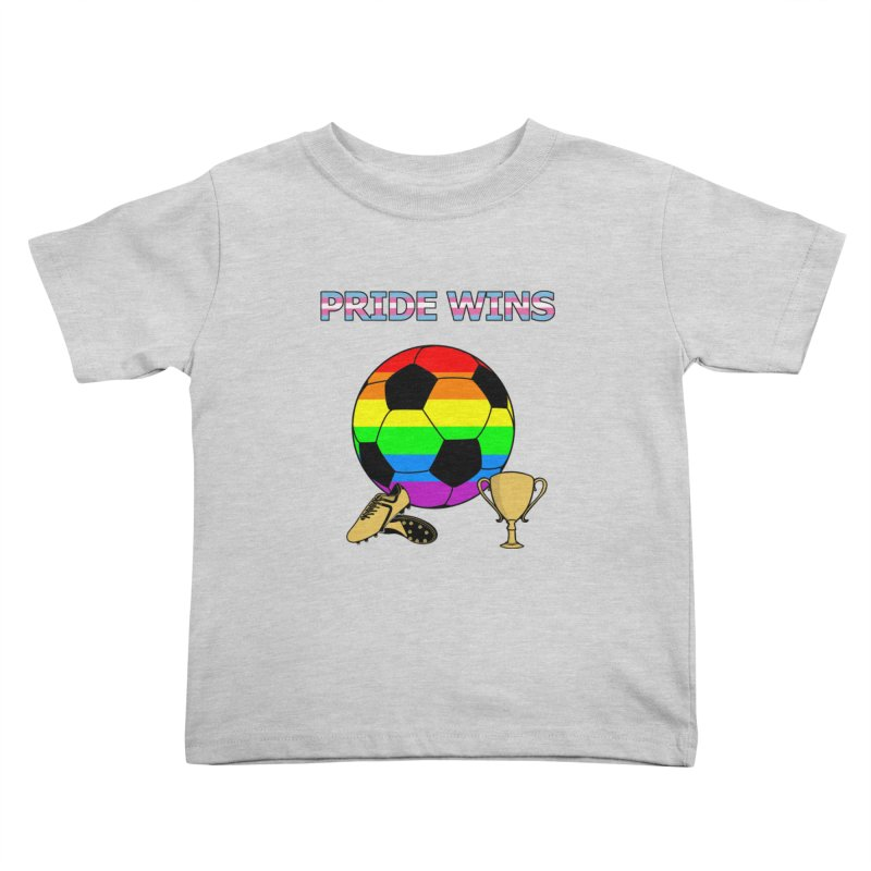 Win With Pride 2019 Kids Toddler T-Shirt by ATL Geek Merch Shop