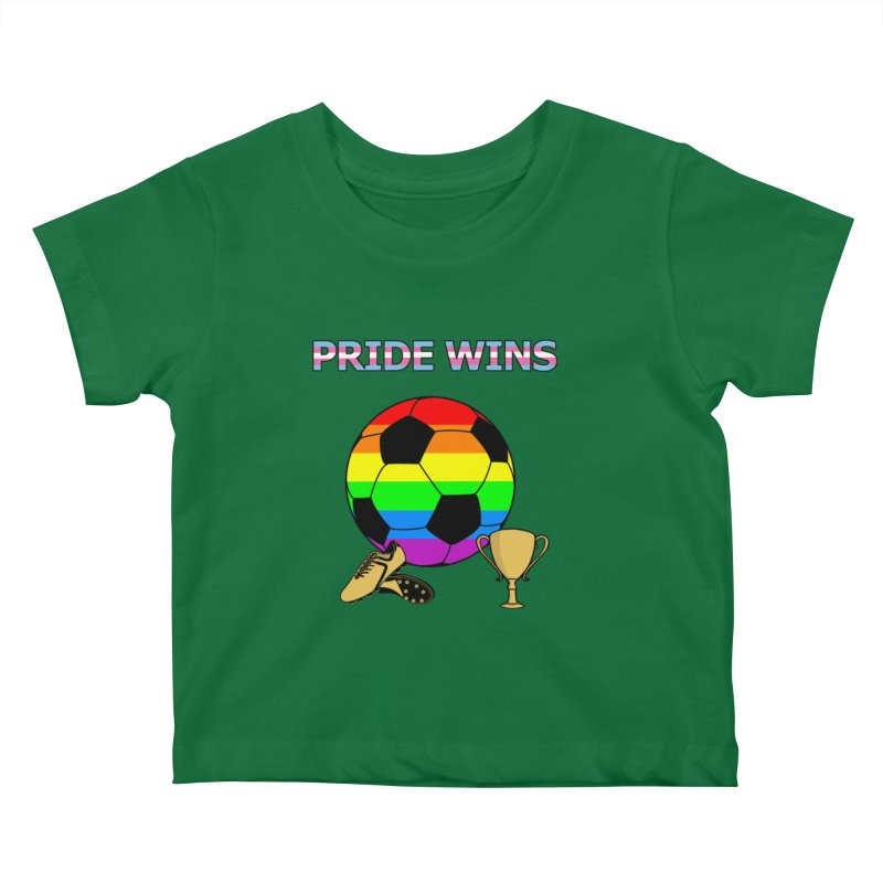 Win With Pride 2019 Kids Baby T-Shirt by ATL Geek Merch Shop