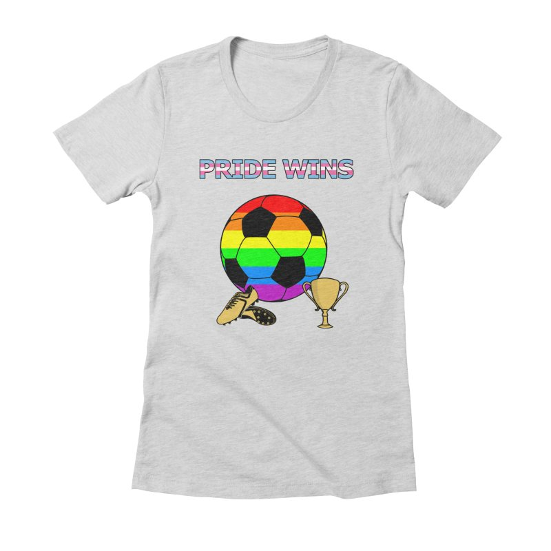 Win With Pride 2019 Women's Fitted T-Shirt by ATL Geek Merch Shop