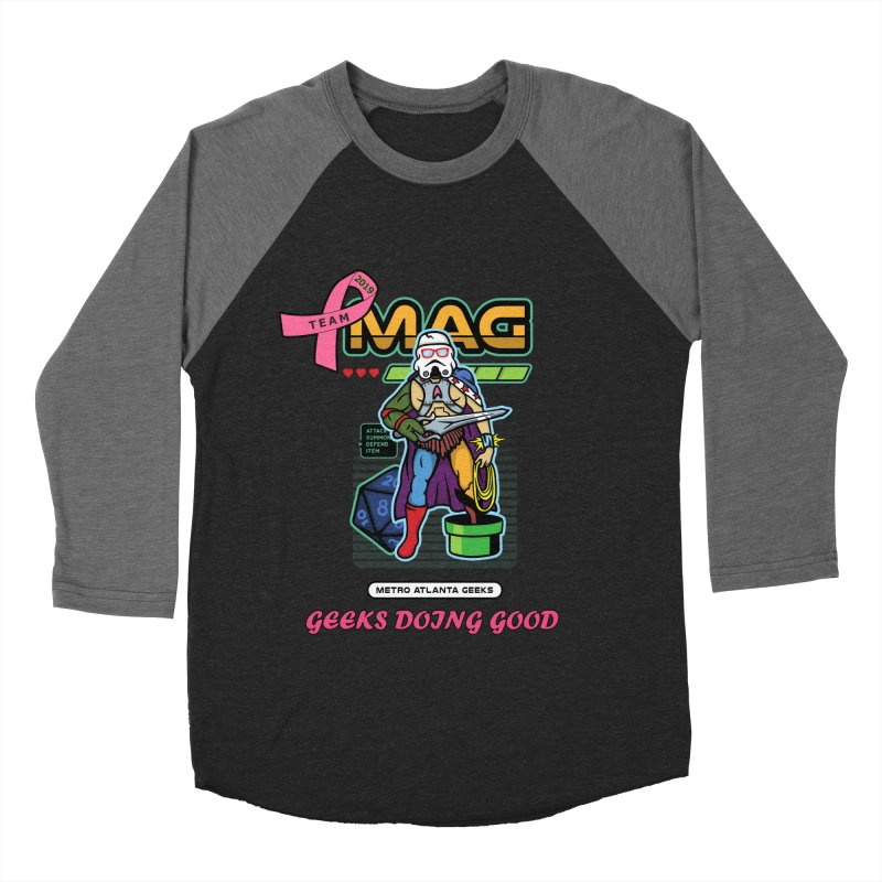 TEAM MAG 2019 Women's Baseball Triblend Longsleeve T-Shirt by ATL Geek Merch Shop