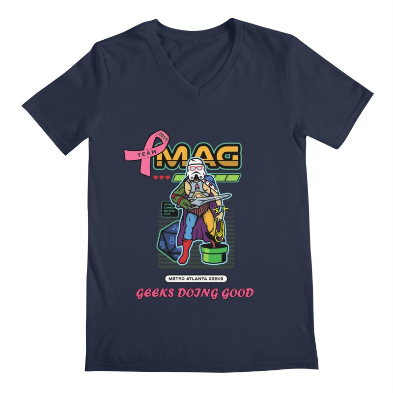 TEAM MAG 2019 Men's V-Neck by ATL Geek Merch Shop