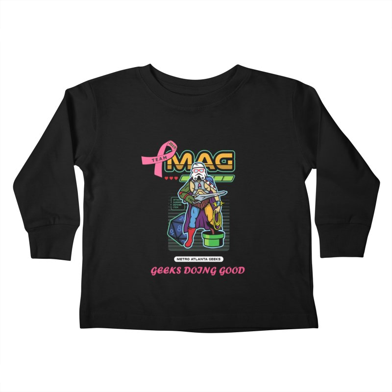 TEAM MAG 2019 Kids Toddler Longsleeve T-Shirt by ATL Geek Merch Shop