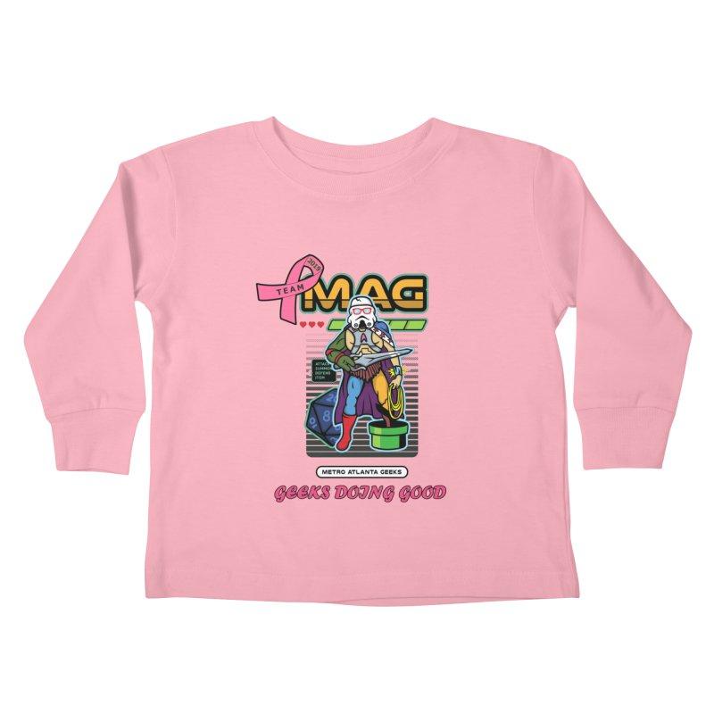 TEAM MAG 2019 Kids Toddler Longsleeve T-Shirt by ATL Geek Merch Shop
