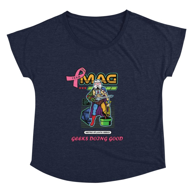 TEAM MAG 2019 Women's Scoop Neck by ATL Geek Merch Shop