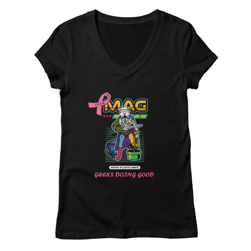 TEAM MAG 2019 Women's V-Neck by ATL Geek Merch Shop