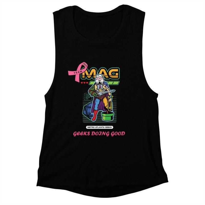 TEAM MAG 2019 Women's Muscle Tank by ATL Geek Merch Shop