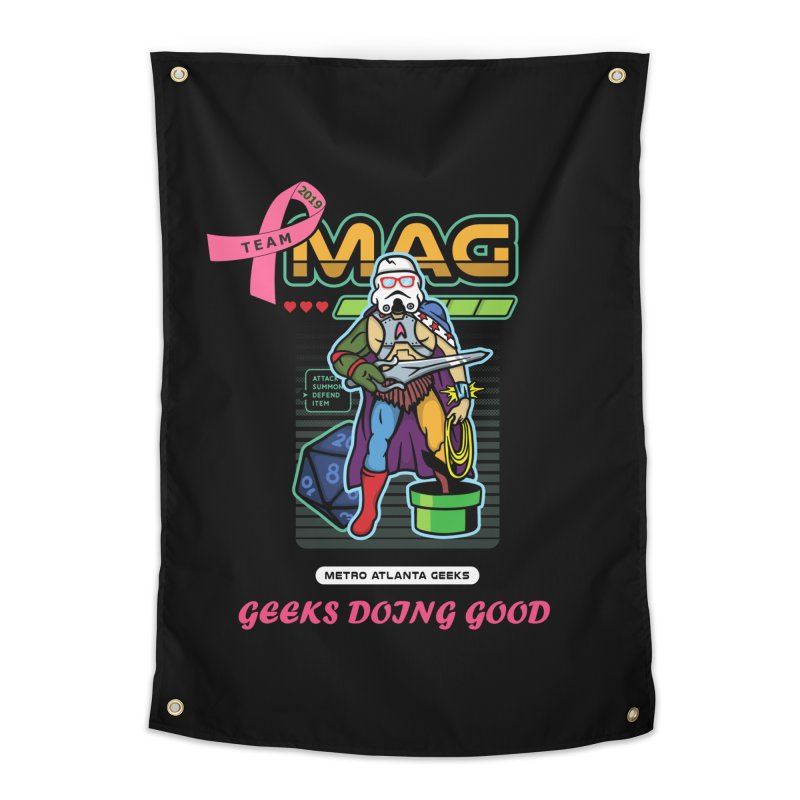 TEAM MAG 2019 Home Tapestry by ATL Geek Merch Shop