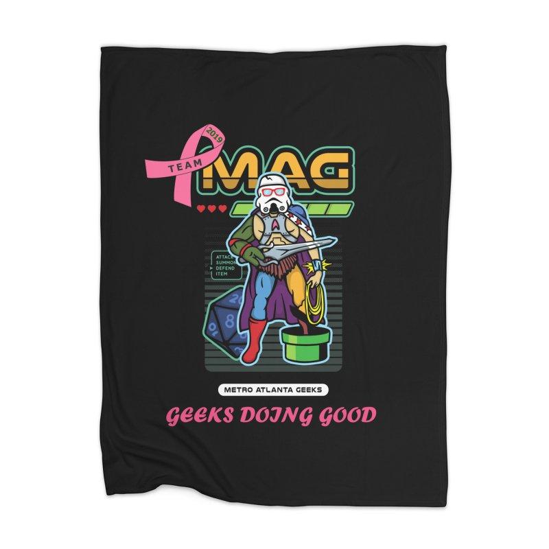 TEAM MAG 2019 Home Blanket by ATL Geek Merch Shop