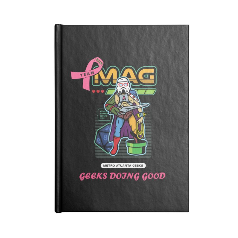 TEAM MAG 2019 Accessories Blank Journal Notebook by ATL Geek Merch Shop